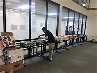 Live Oaks Packing Party Preparation